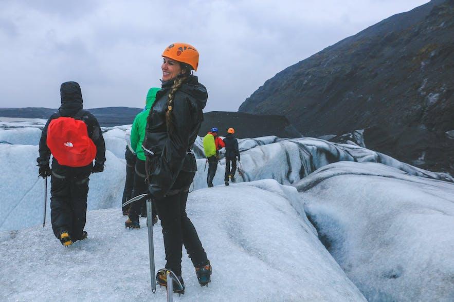 exploring the Skaftafellsjokull glacier with Icelandic Mountain Guides