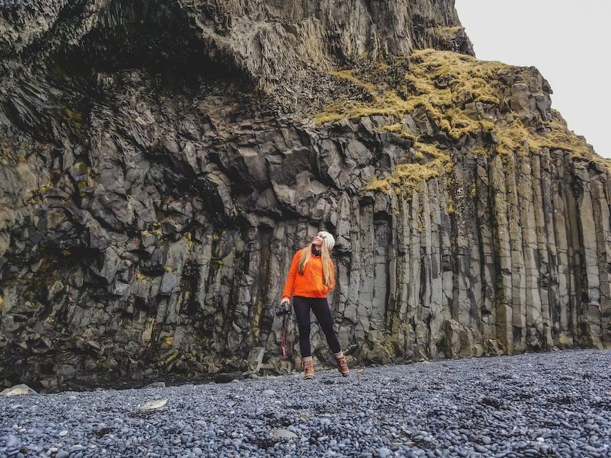 Cliffs at Black Sand Beach