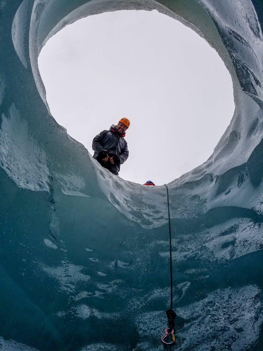 View from Ice Cave Skaftafellsjokull