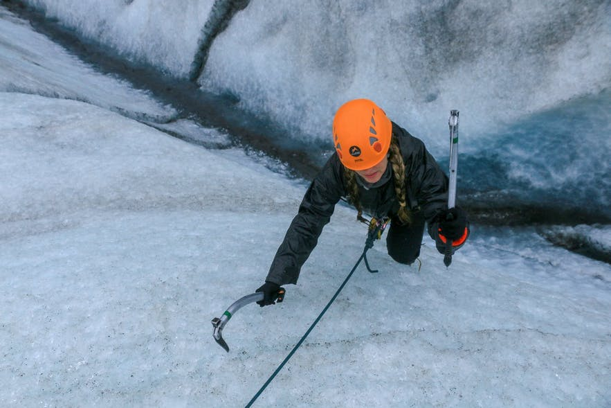 Glacier climb Skaftafellsjokull with Icelandic Mountain Guides