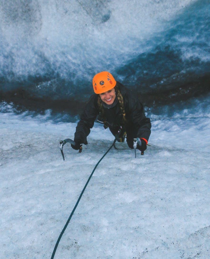 Glacier Ice Climb