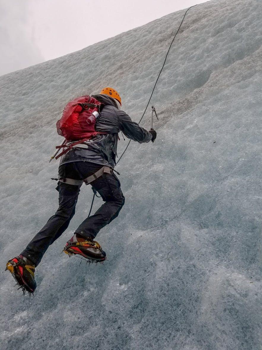 Glacier Ice Climb Skaftafellsjokull