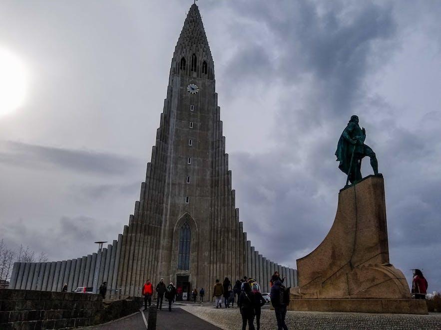 Hallgrimskirkja Cathedral Reykjavik Golden Circle