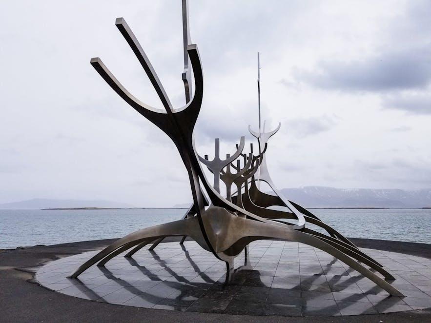Sun Voyager Sculpture Reykjavik