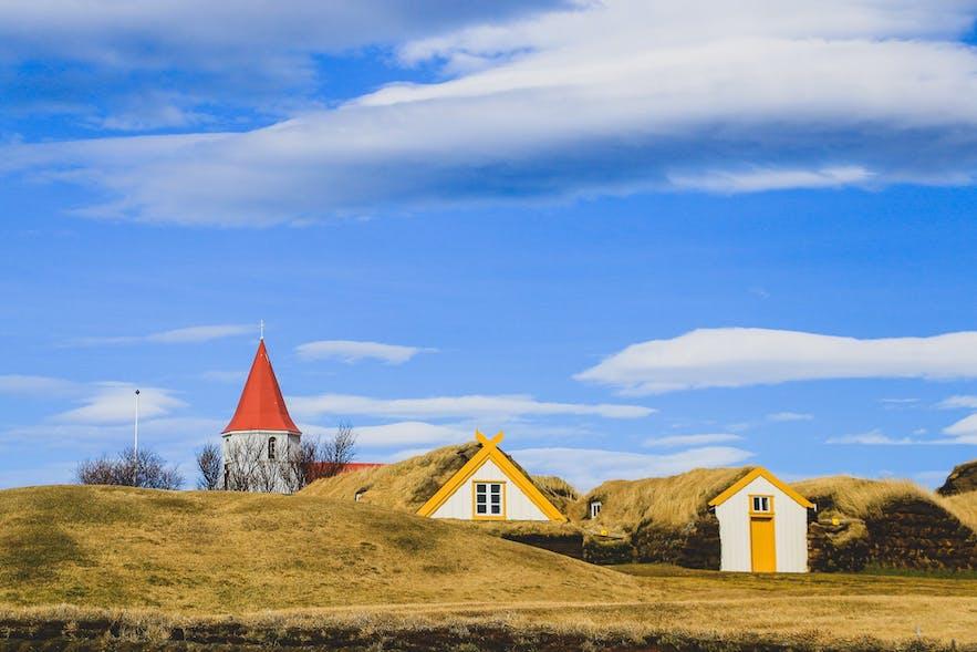 Glaumbaer farm Iceland Ring Road