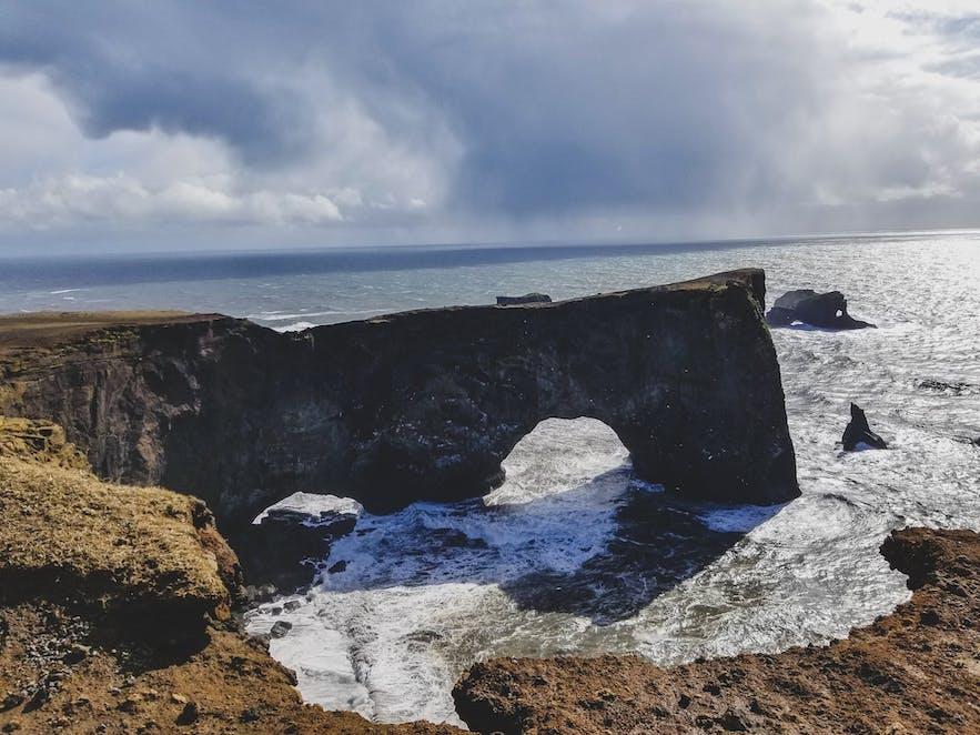 Dyrholaey Golden Circle Iceland