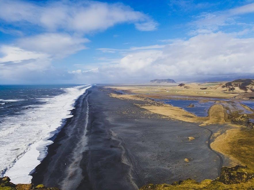 Reynisdrangar black beach