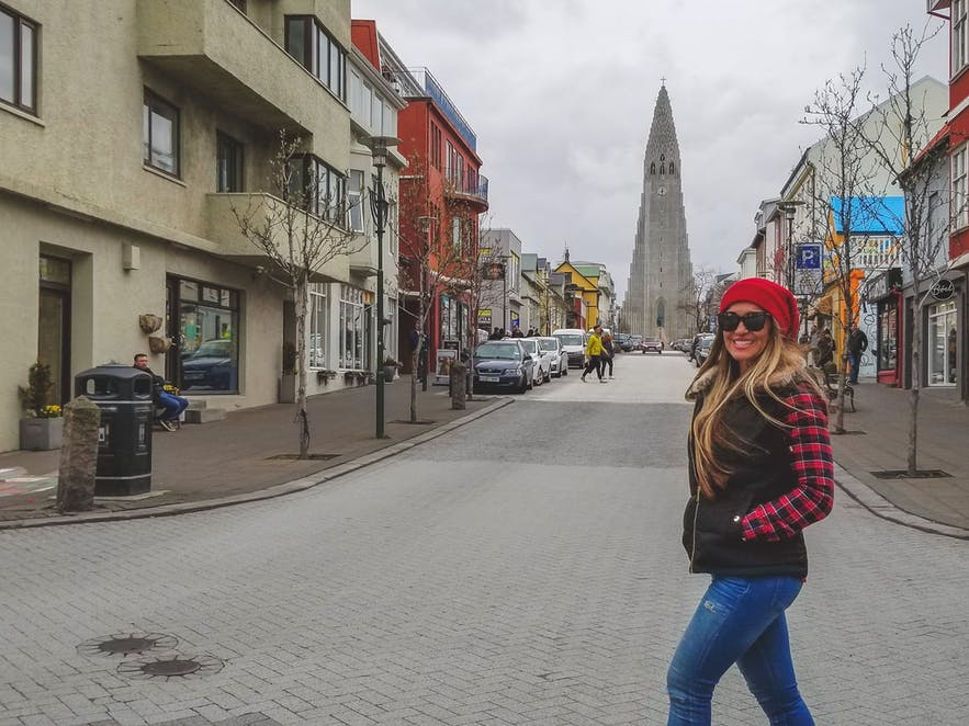 Picture Streets of Reykjavik