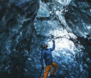 ヨークルスアゥルロゥン発|氷の洞窟ツアー
