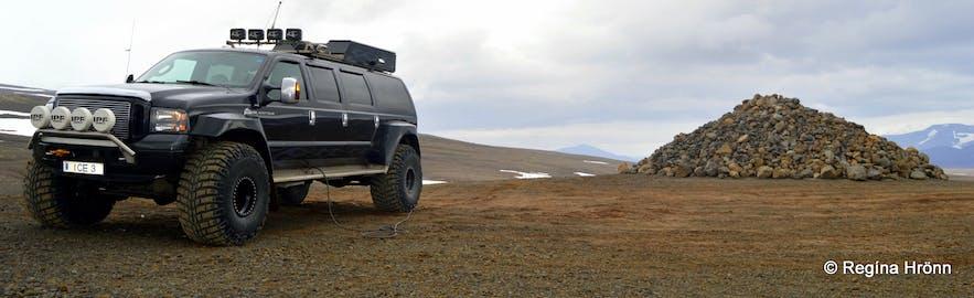 Kaldidalur highland track