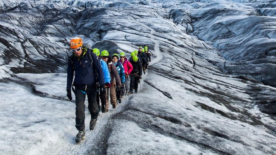 冰島冰川徒步冰川健行全攻略