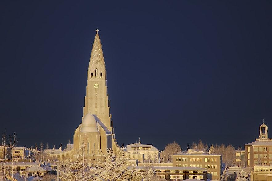 冰島首都雷克雅維克