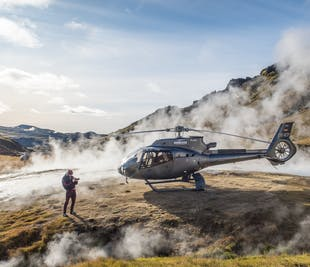 Volcano Hengill Geothermal Helicopter Ride