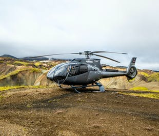 Pilot's Favorite Helicopter Tour | Highlands, Waterfalls, Volcanoes & More