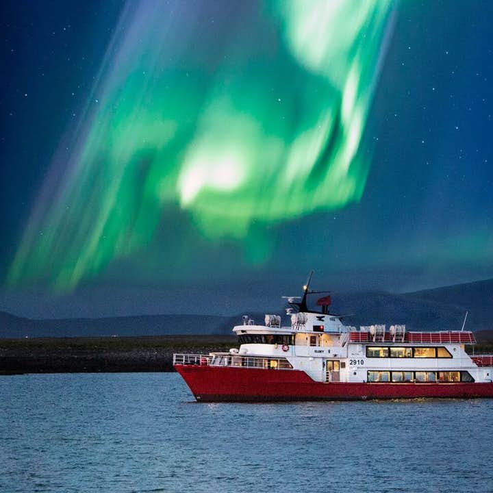Amazing 2 Hour Northern Lights Cruise with Transfer from Reykjavik Harbor