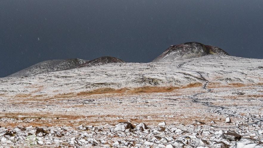 Thrihnukagigur - Krater Trzech Stożków