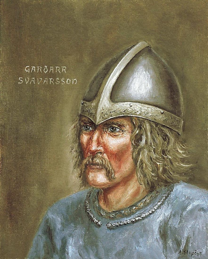 The first norseman to ever reach Iceland—Garðar Svavarsson.