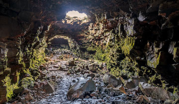 Lava caving allows you to explore Iceland's volcanic wonders.