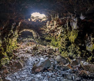Рёйвархоульсхетлир   Классический тур в лавовый туннель