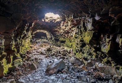 Tunnel de lave de Raufarholshellir | Grotte dans le sud de l'Islande