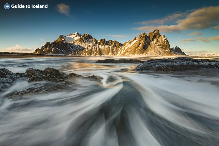 In south-east Iceland is a gabbro mountain called Vestrahorn.