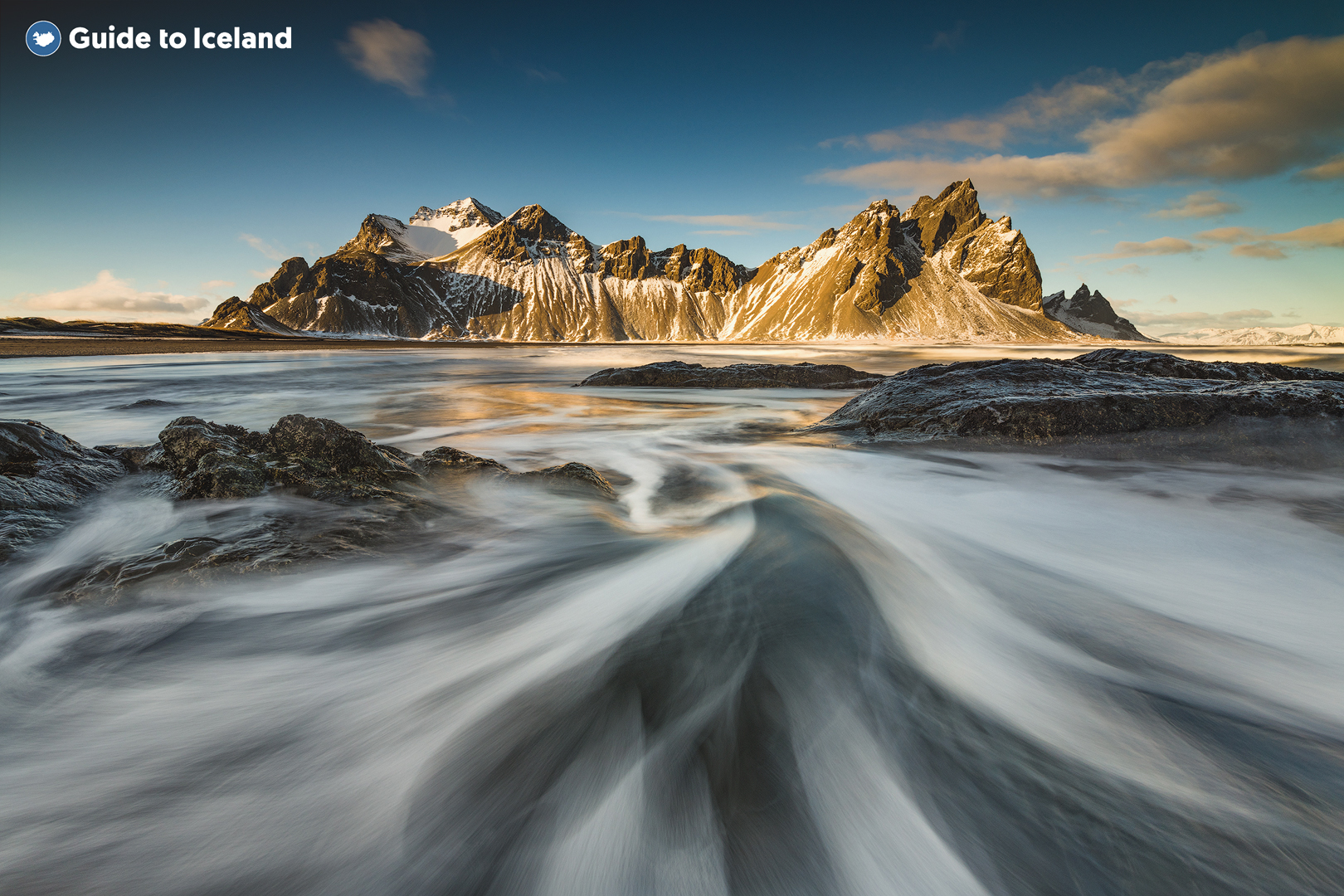 Le Vestrahorn est une montagne de gabbro située dans le Sud-Est de l'Islande.