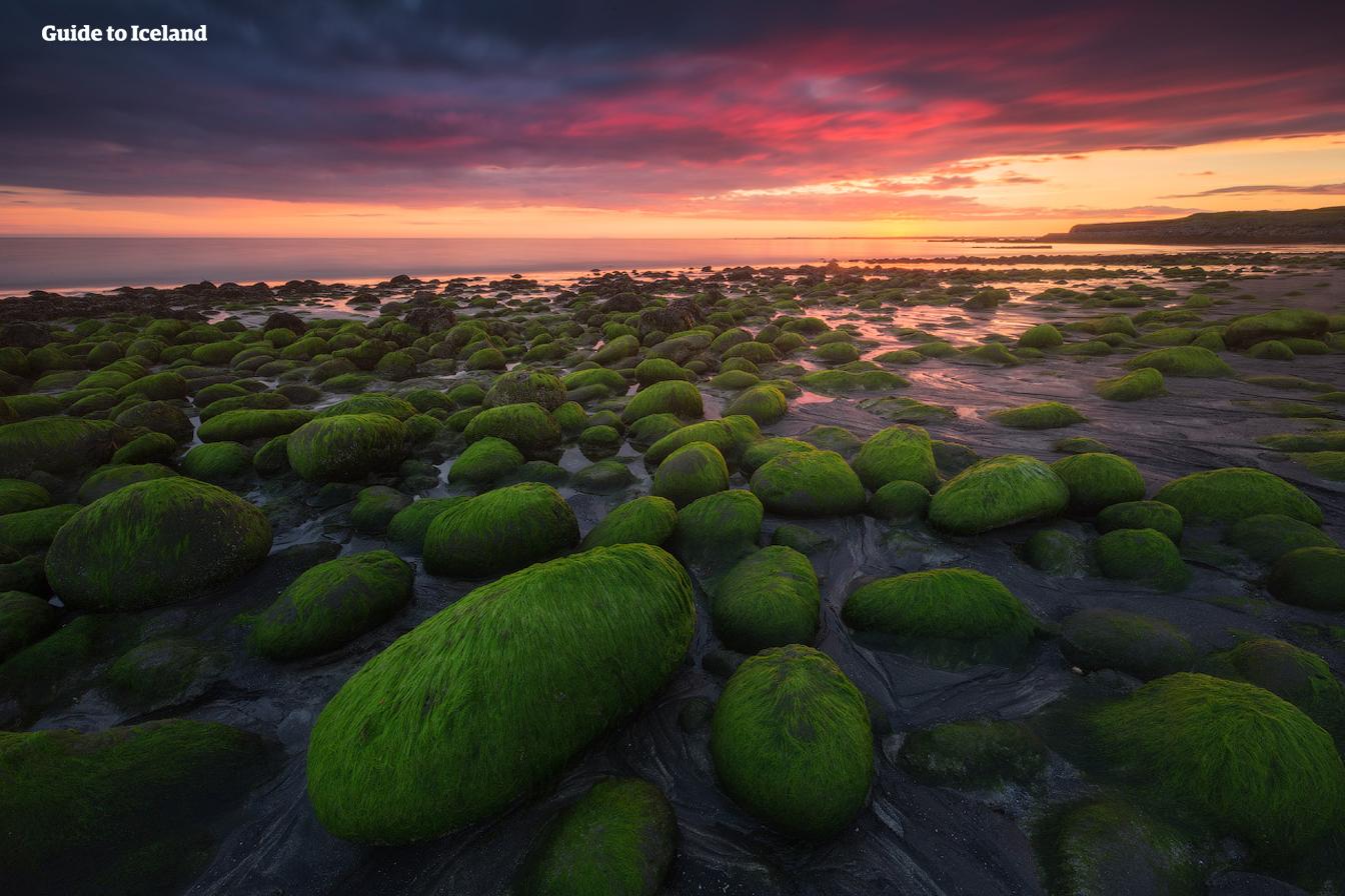 The Reykjanes Peninusla which leads to Iceland's capital has a beautiful coastline.