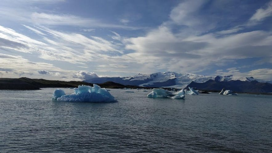 Laguna glaciar de Jökulsárlón