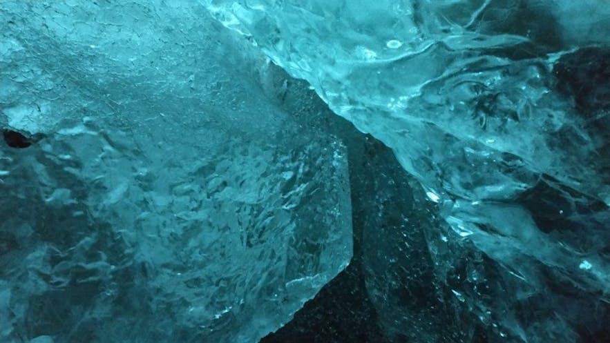 La cueva de hielo