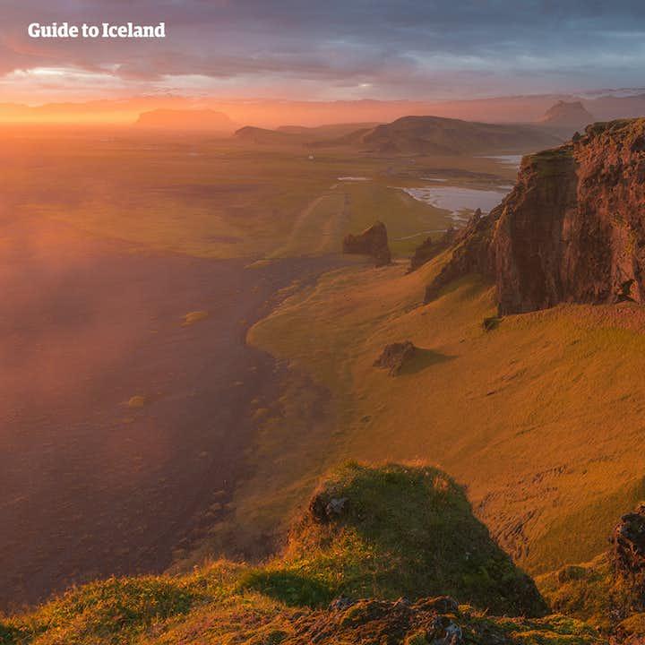 Udflugt til sydkysten | Gletsjerlagunen Jökulsárlón, Vík og vandfald
