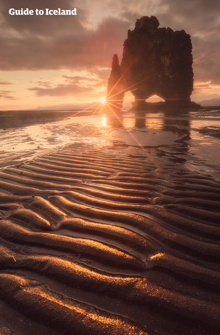 Hvítserkur is a stunning lava rock formation.