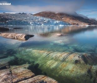 Spektakularne góry lodowe | Wycieczka z Islandii na Grenlandię