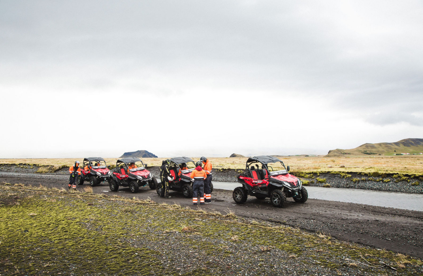 Exciting 1 Hour ATV Buggy Adventure through the Countryside with Transfer from Gljufrabui