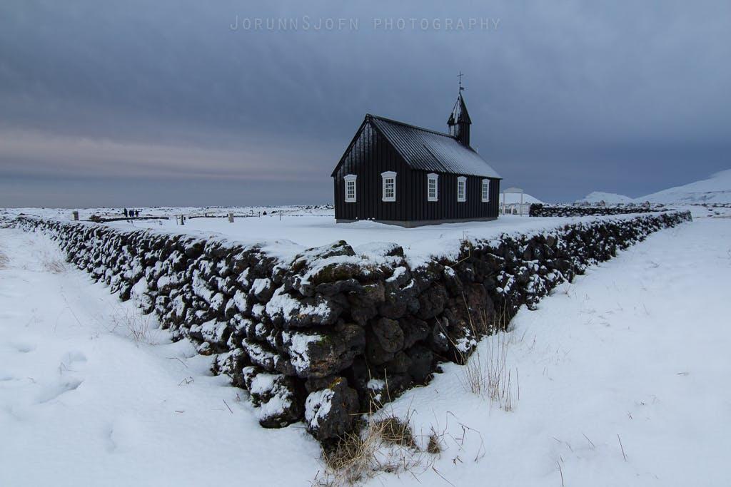 Búðir church in Iceland