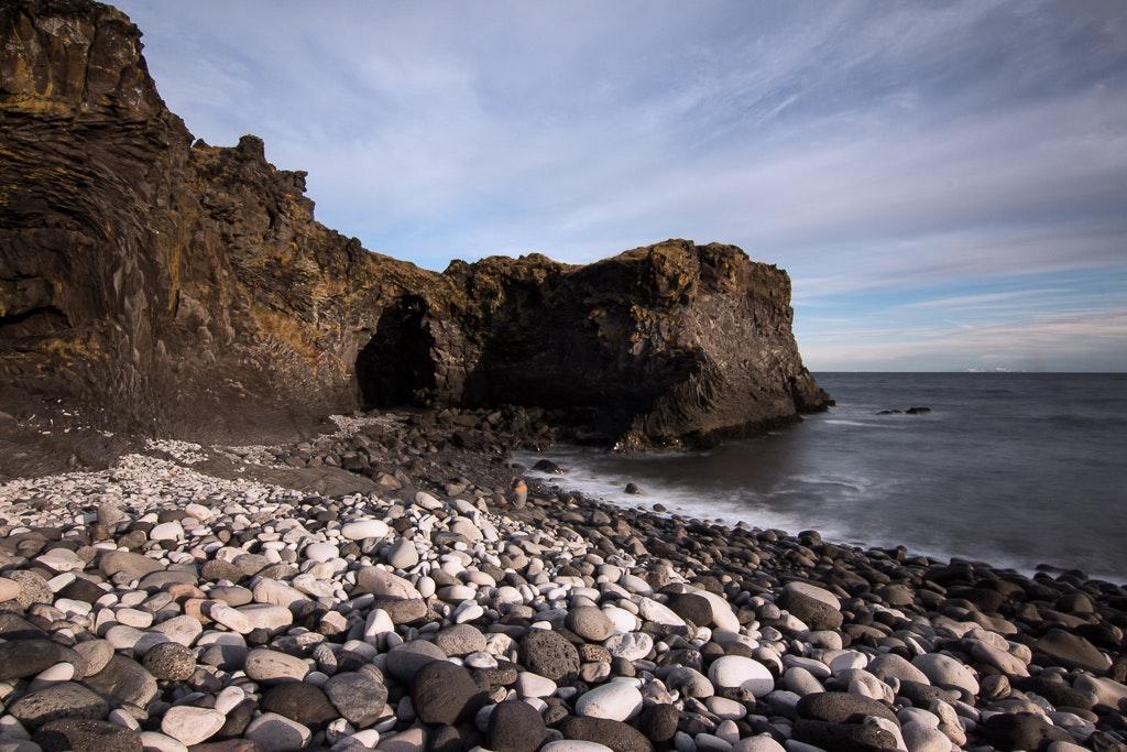 Hellnar in west Iceland