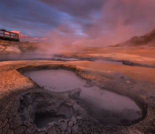 Geothermal Cycling Tour in Iceland