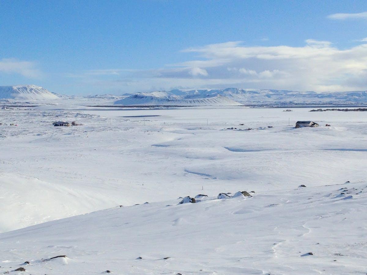 冰岛米湖Hverfell