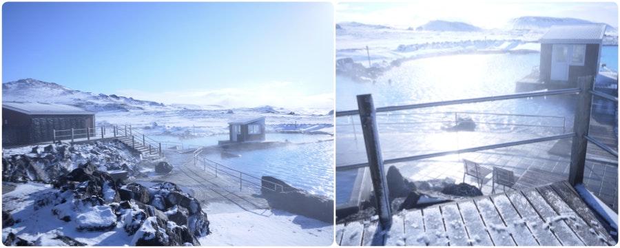 冰岛米湖天然温泉