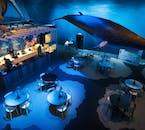 아이슬란드 고래 박물관 내 카페.