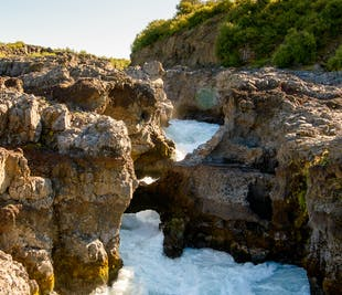 4 Day South Coast and West Iceland Small Group Tour with Blue Ice Cave