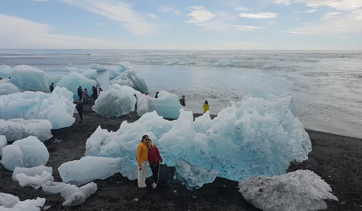 Small Group 4 Day Tour of West Iceland & the South Coast with Blue Ice Caving & Waterfalls