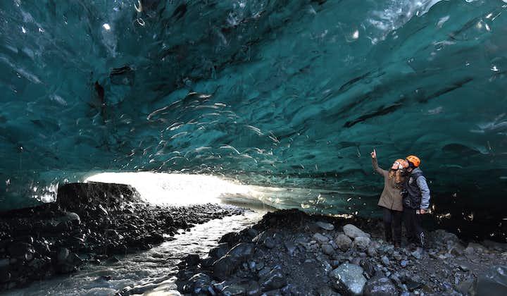 크리스탈 푸른 얼음동굴 | 수퍼지프로 요쿨살론에서 출발