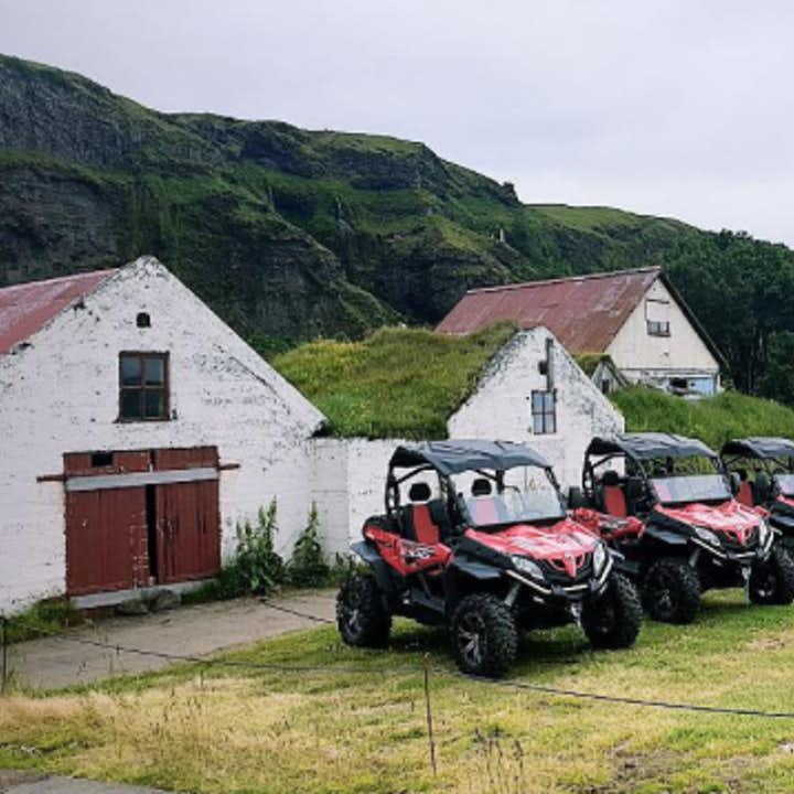 These all terrain vehicles are perfectly suited and waiting to take you on your adventure.