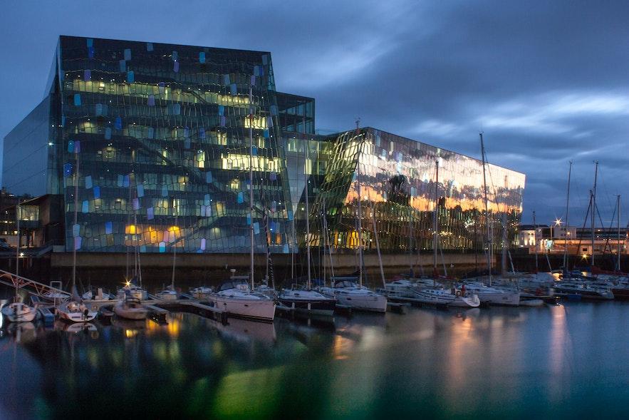 Harpan concert hall in Reykjavík