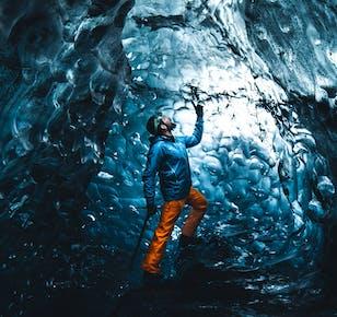 Eishöhlen-Tour im Vatnajökull   Abfahrtsort Jökulsarlon