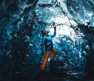 Jaskinie lodowe pod lodowcem Vatnajokull | Wyjazd z Jokulsarlon