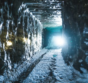 Schneemobil- und Eishöhlen-Tour am Langjökull-Gletscher   ab Gullfoss