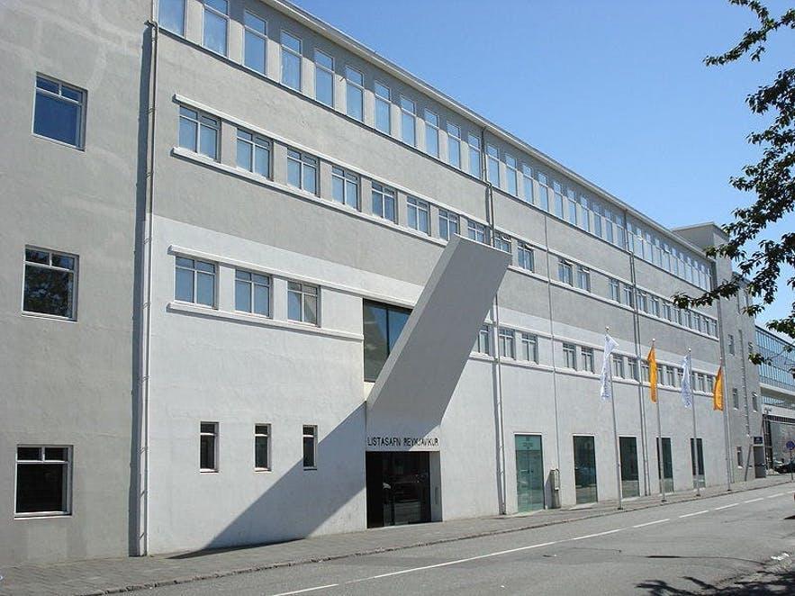 以冰岛现代艺术品为主题的雷克雅未克艺术馆Hafnarhús分馆