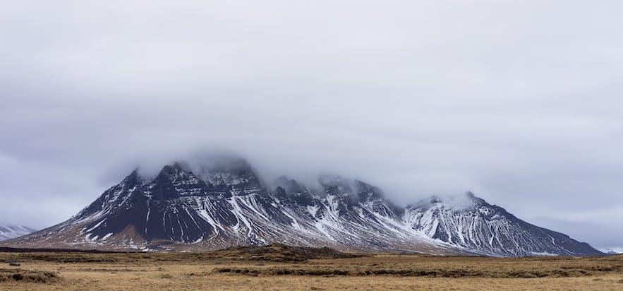 冰島自然風景