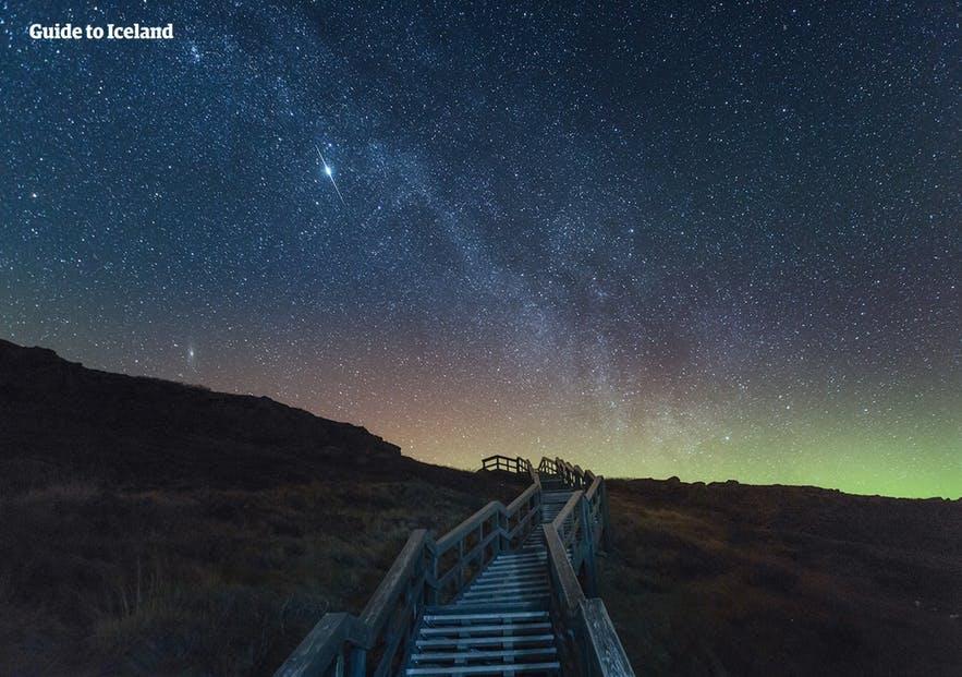 冰島的星空